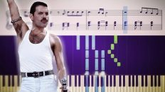 How to play the piano part of Bohemian Rhapsody by Queen